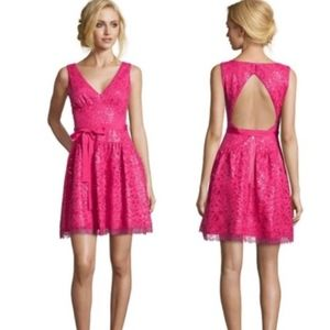 085b9948195 BCBG MaxAzria Katarina Mini Dress in Azalea Pink
